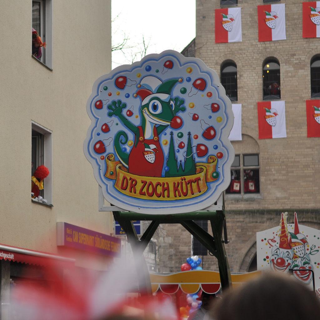 D'r Zoch kütt am Rosenmontagszug 2012