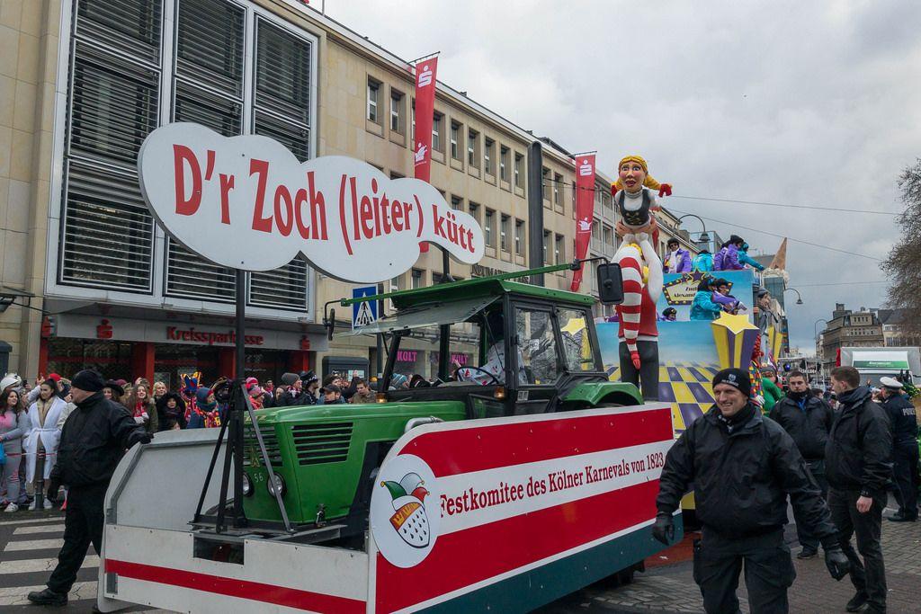 D'r Zoch (leiter) kütt - Zochleiter-Wagen - Kölner Karneval 2018