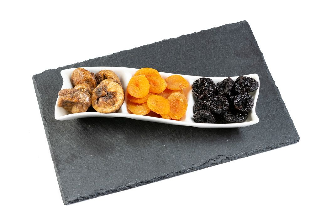 Dried Plums Peaches and Figs (Flip 2019)