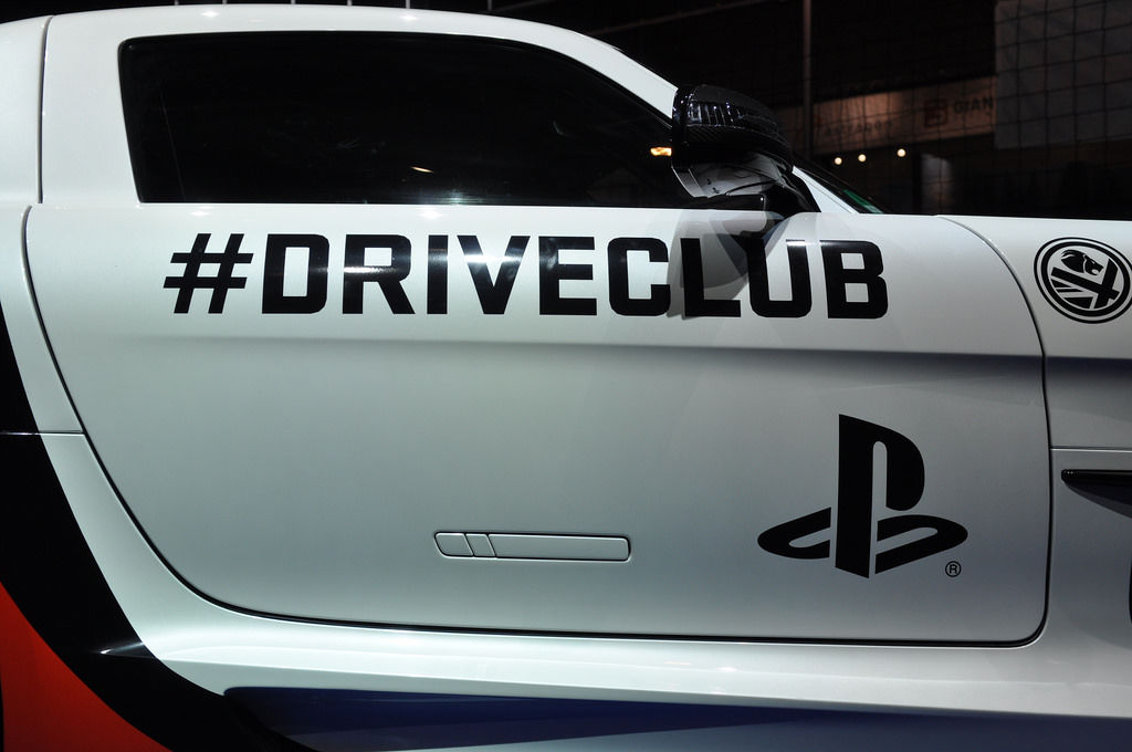 Driveclub for Playstation @ Gamesocm 2014