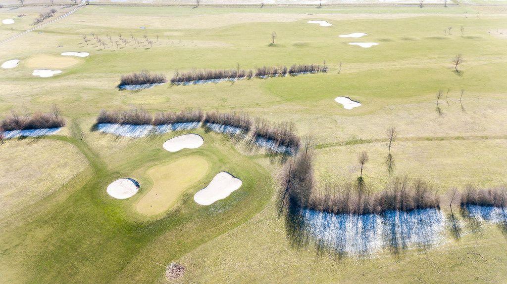 Drohnenaufnahme der Golfanlage Pforzheim