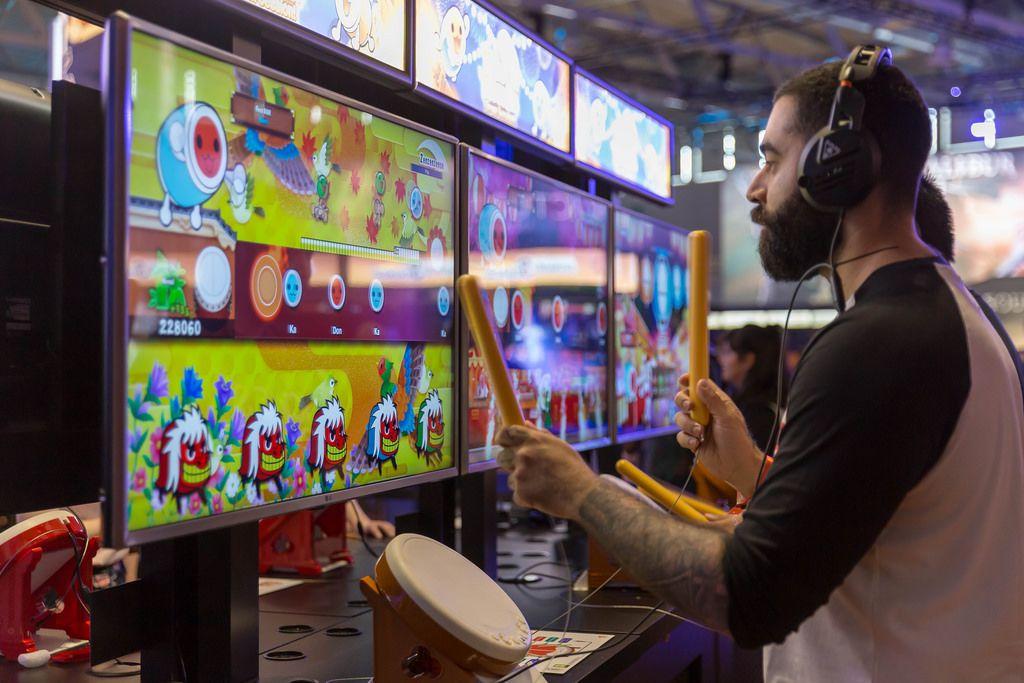 Drum Controller für Taiko Drum Master für die Nintendo Switch