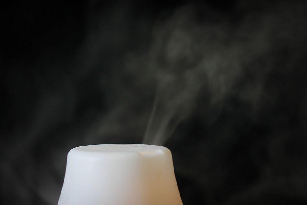 Duftzerstäuber im Einsatz
