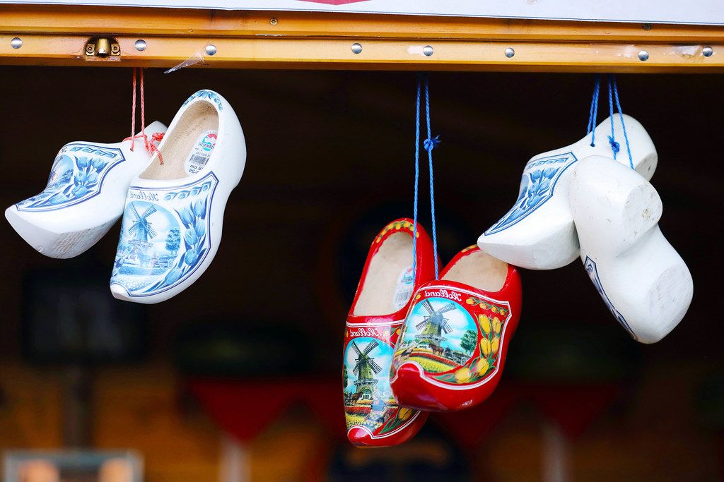 Dutch clogs at Christmas fair (Flip 2019)