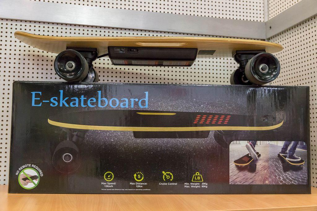 E-Skateboard - IAW Köln 2018