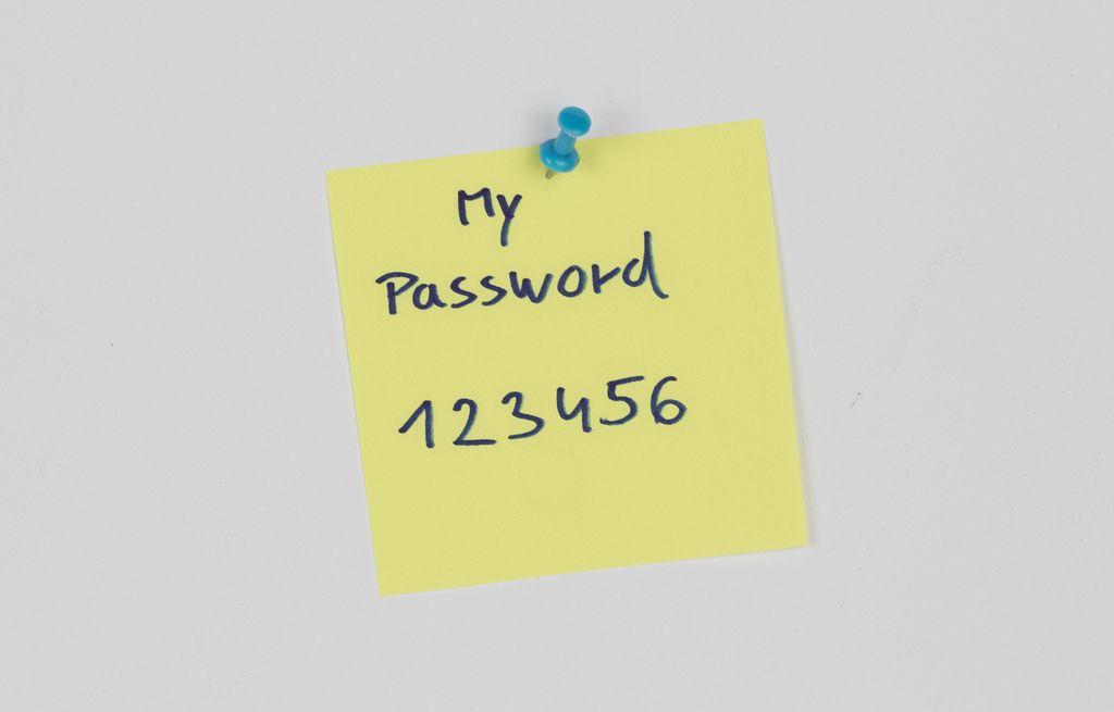 Easiest passwords people use