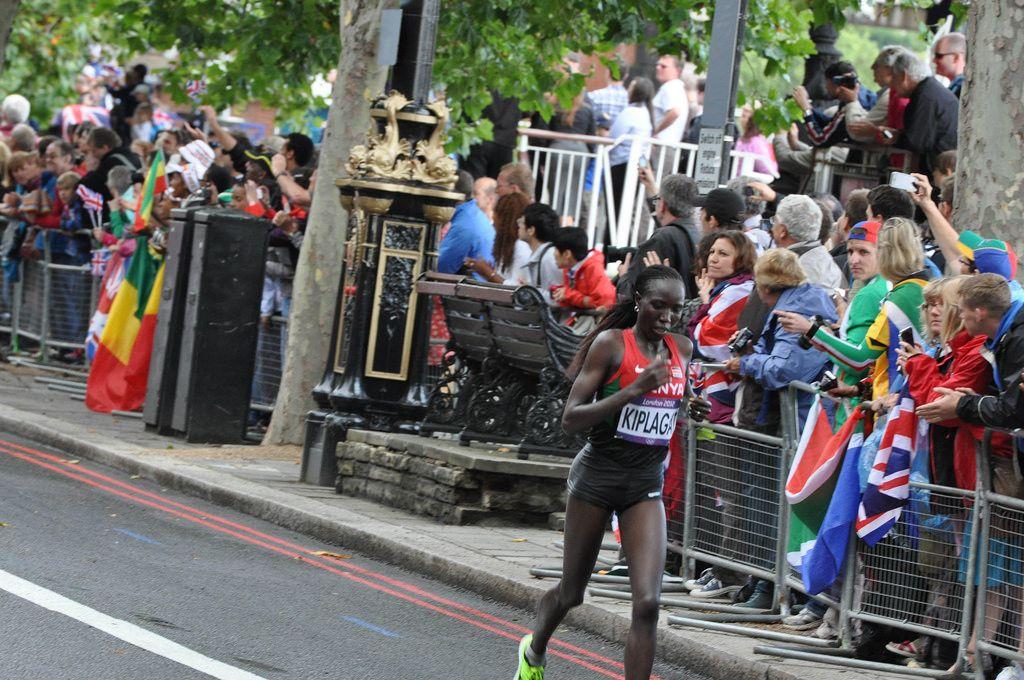 Edna Ngeringwony Kiplagat bei den London Olympics 2012