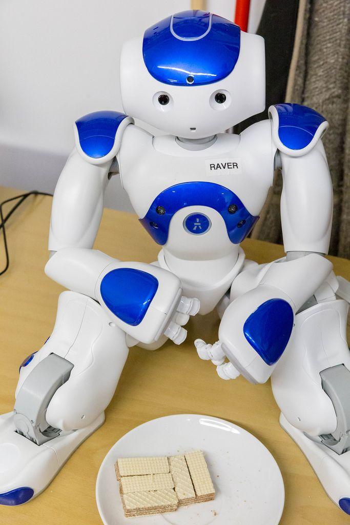 Ein Roboter mit dem Namen Raver