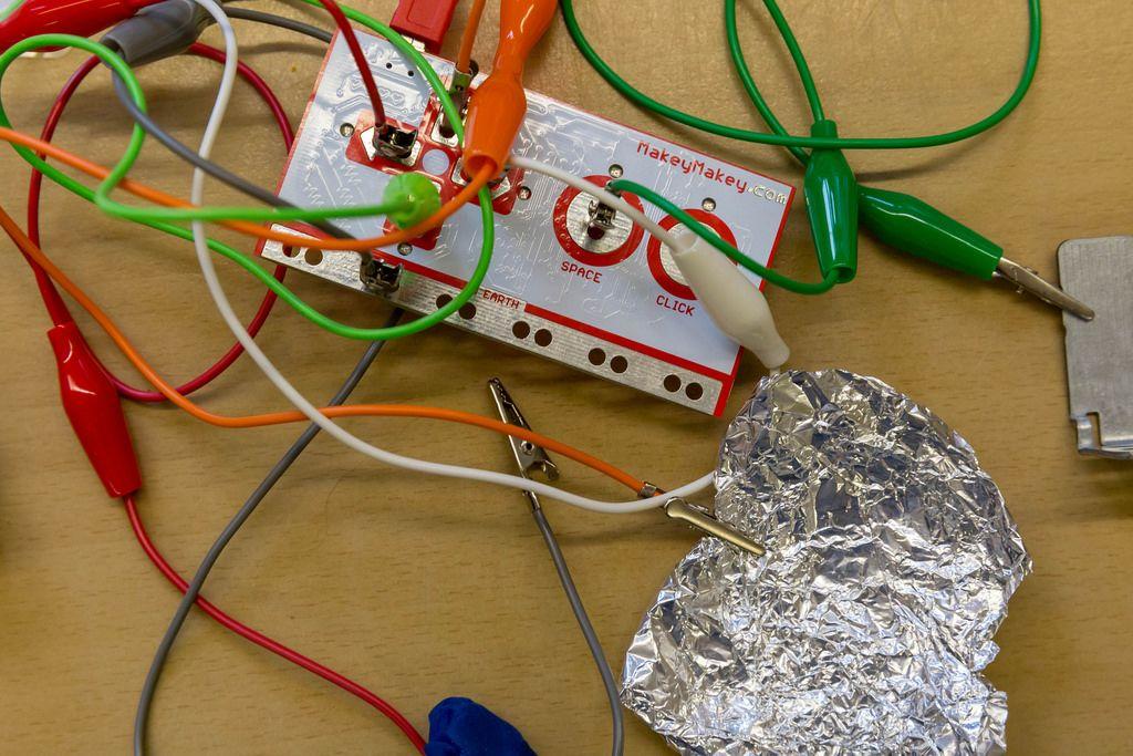 Ein Stromkreis für Lernzwecke