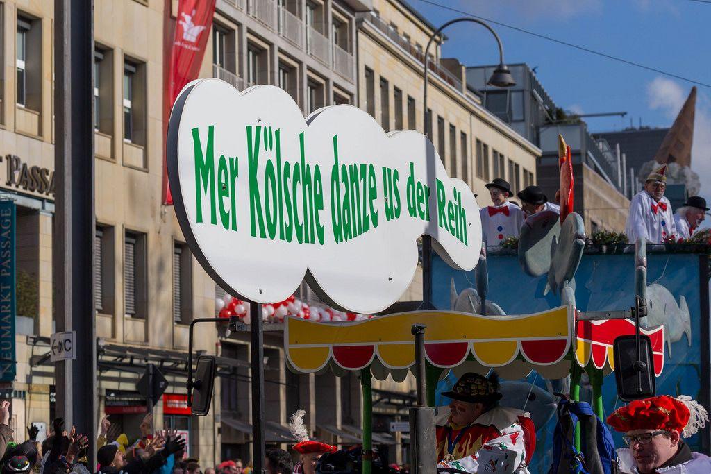 Ein Wagen voller Narren - Kölner Karneval 2018