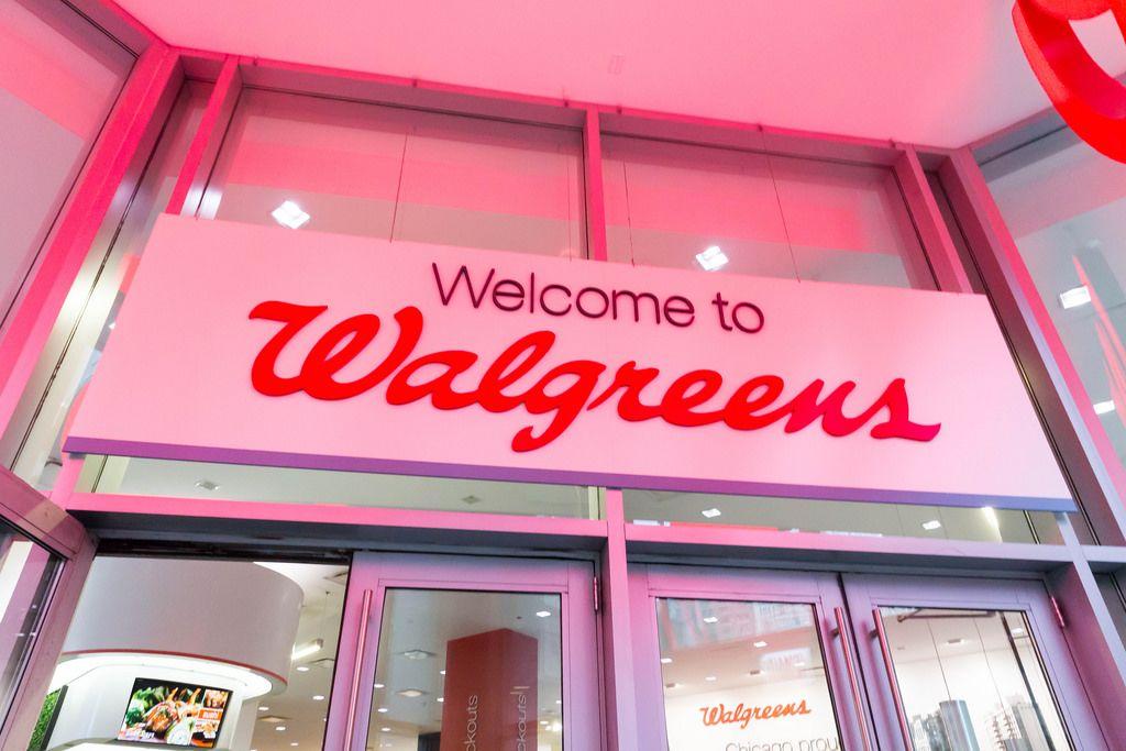 Eingang zu einer Walgreens Apotheke