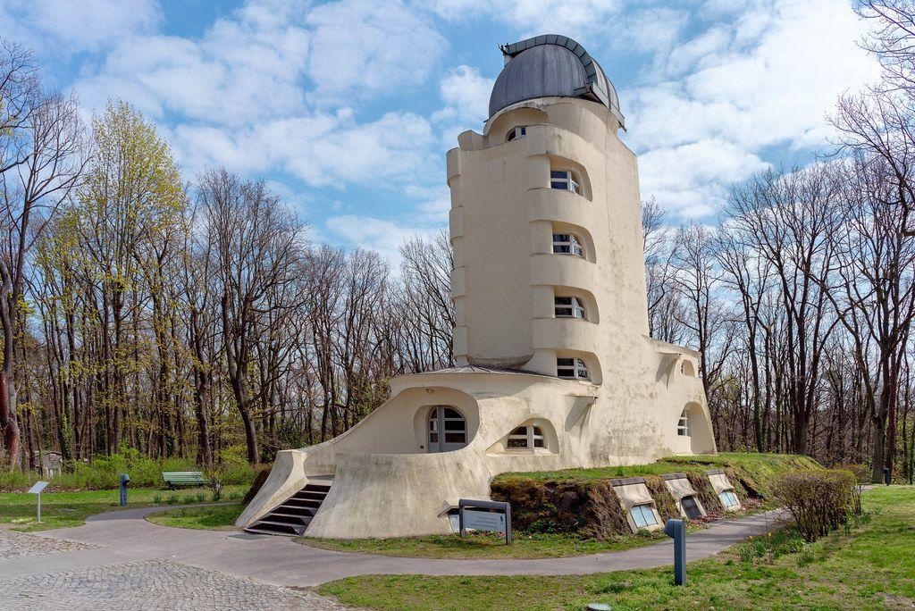 Einstein Tower sun observatory at Potsdam University (Flip 2019)