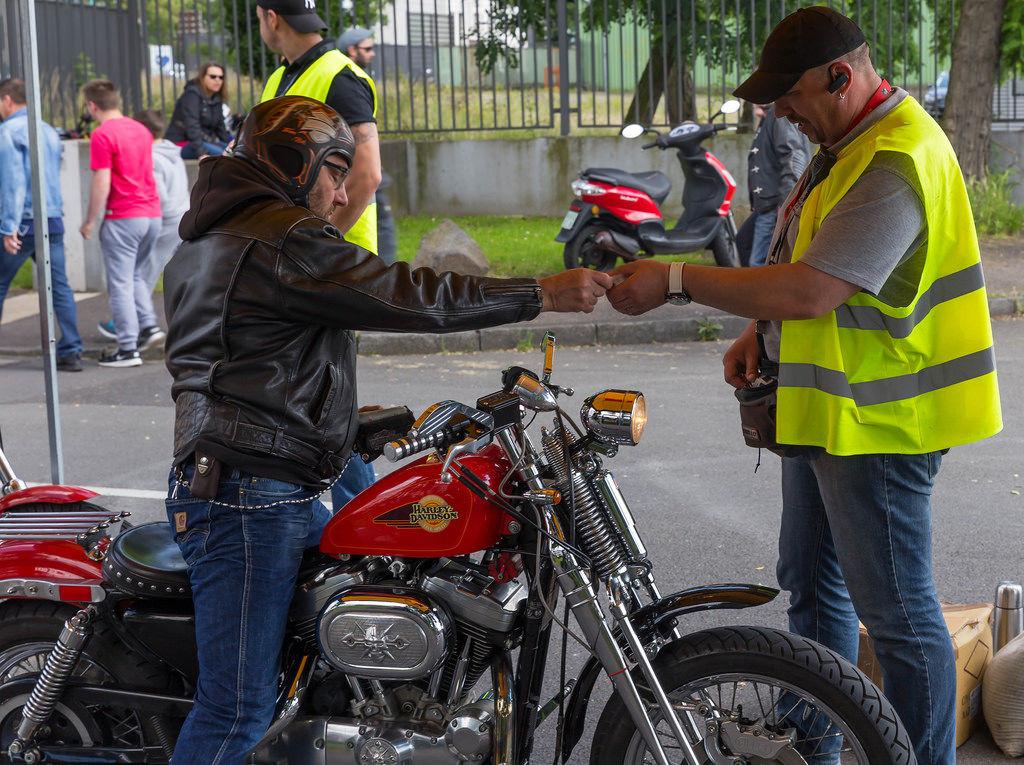 Eintritt beim Harley Dome Cologne