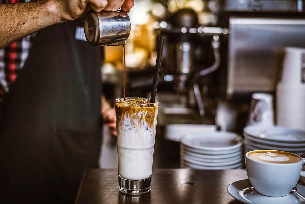 Eiskaffee mit Sahne nach Dubliner Art