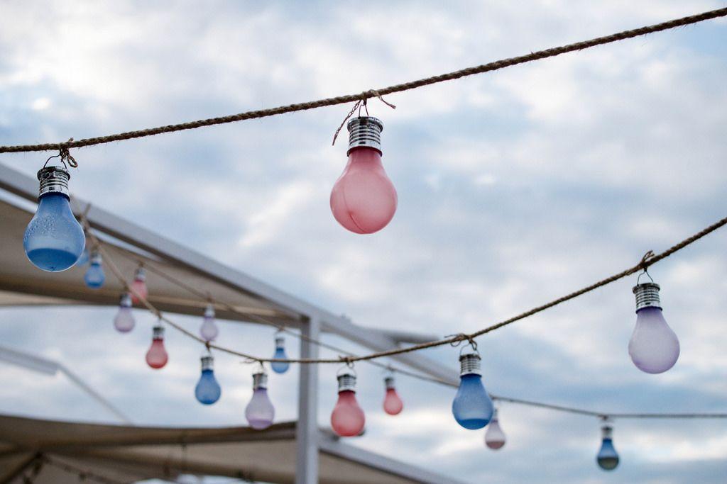 Electric LED  lights garlands