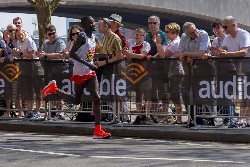 Elite runner Abel KIRUI - London Marathon 2018