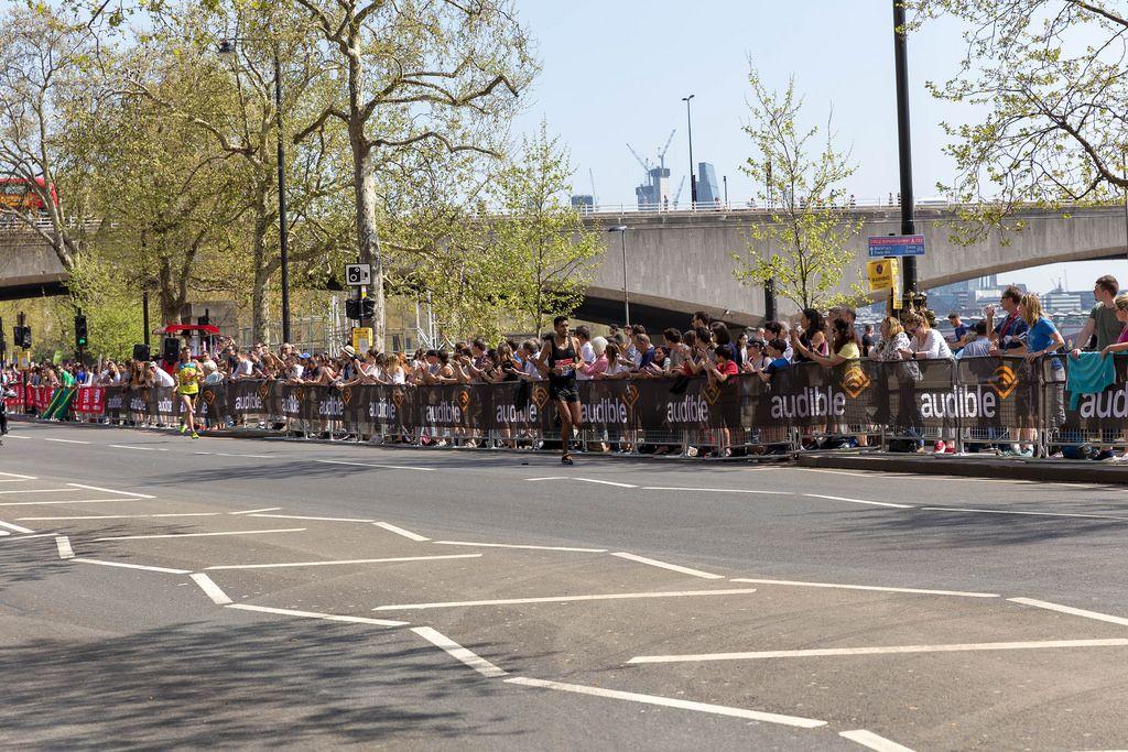 Elite runner Fernando CABADA - London Marathon 2018