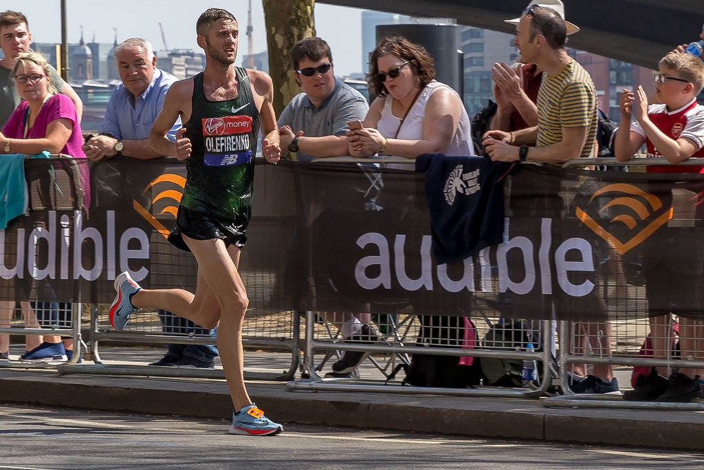 Elite runner Ihor OLEFIRENKO - London Marathon 2018