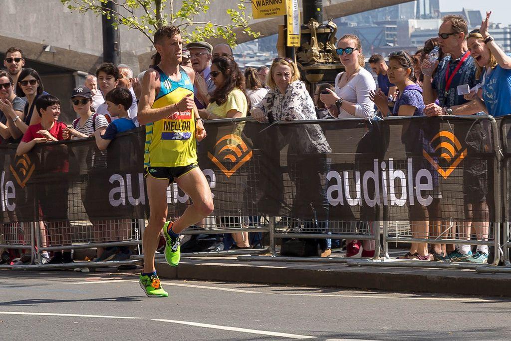 Elite runner Jonny Mellor - London Marathon 2018