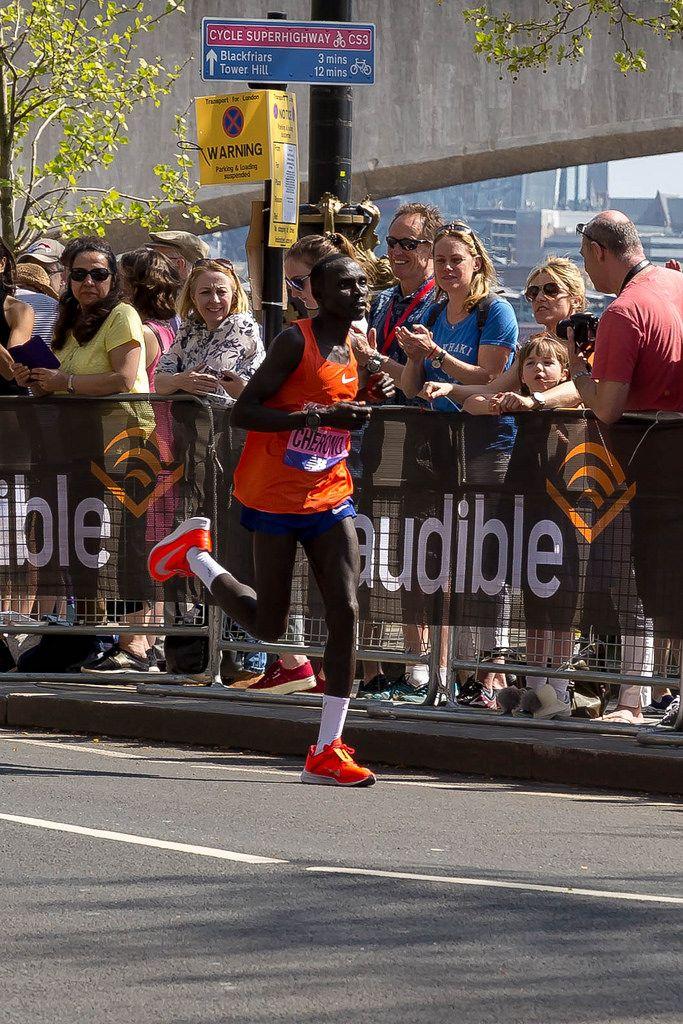Elite runner Lawrence CHERONO - London Marathon 2018