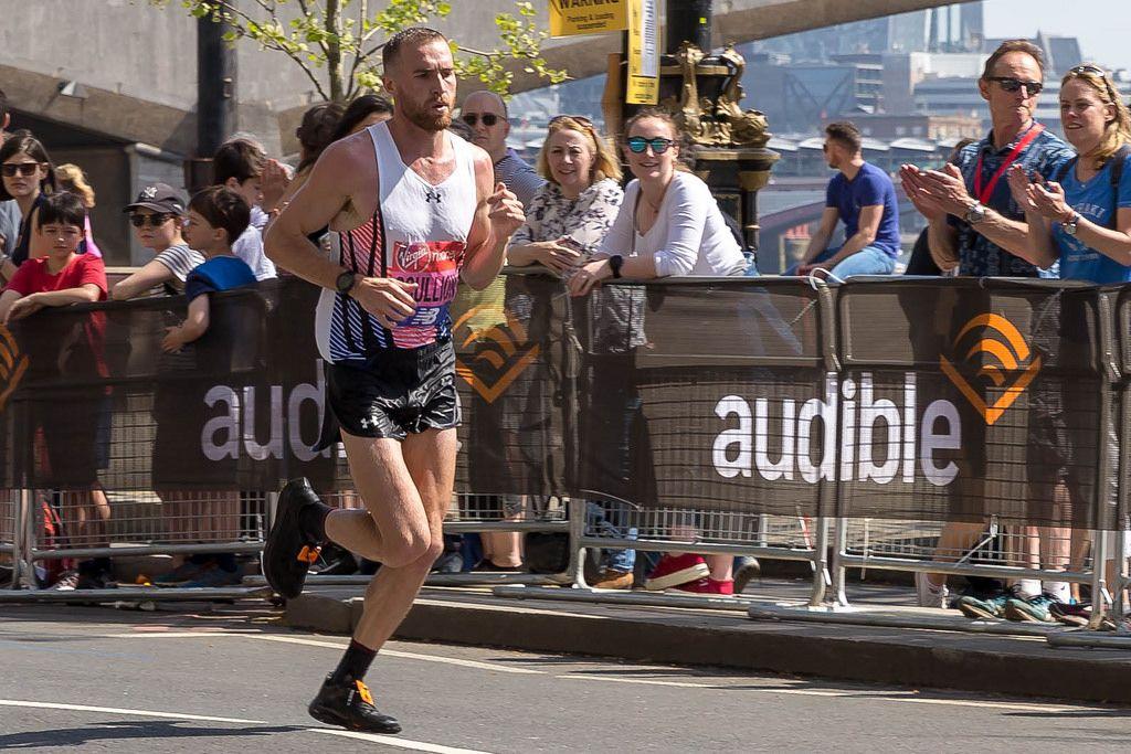 Elite runner Stephen SCULLION - London Marathon 2018