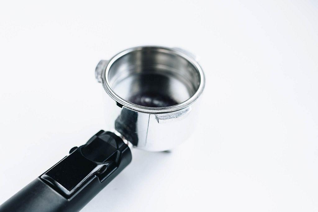 Empty Espresso Coffee Machine Holder