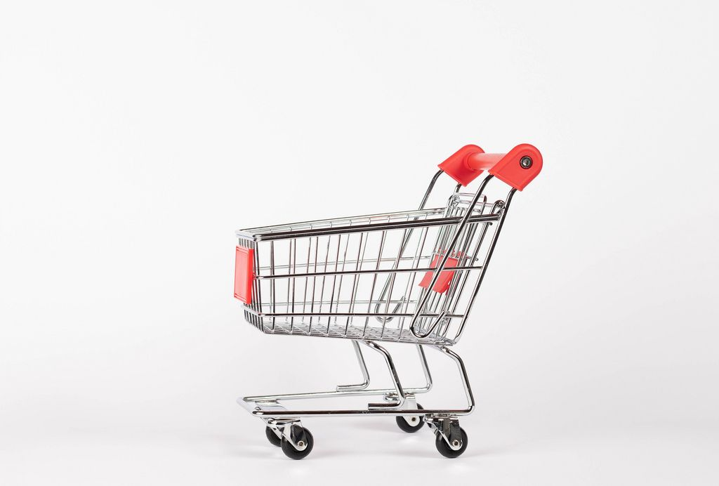 Empty shopping cart (Flip 2019) (Flip 2019) Flip 2019
