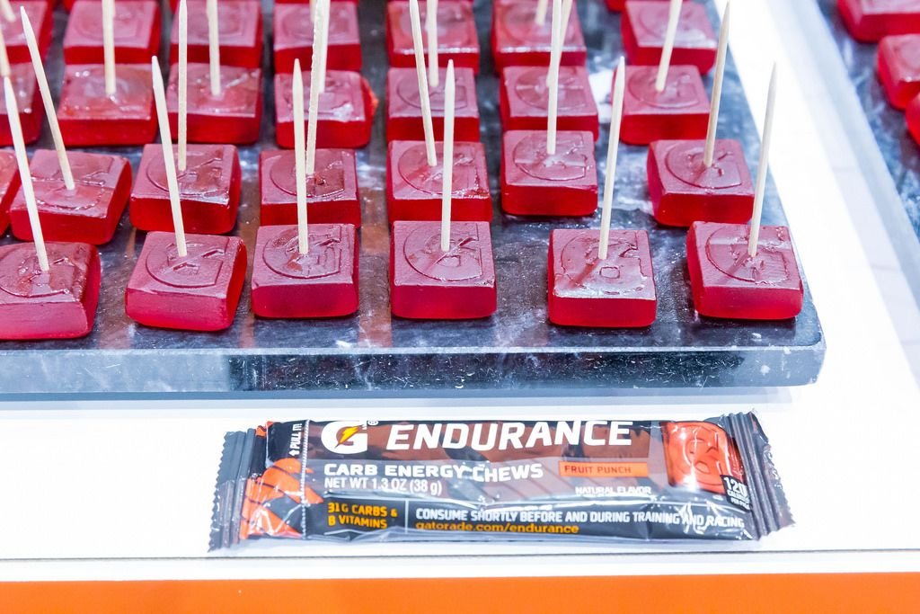 Endurance Fruit Punch Carb Energy Chews