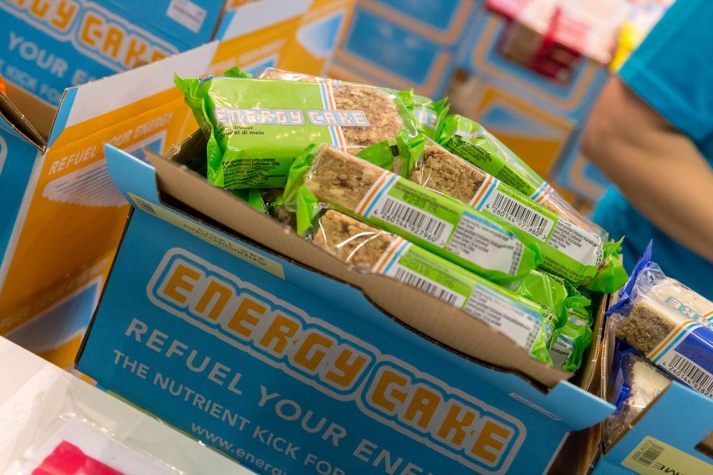 Energy Cake Apfelstrudel - FIBO Köln 2018