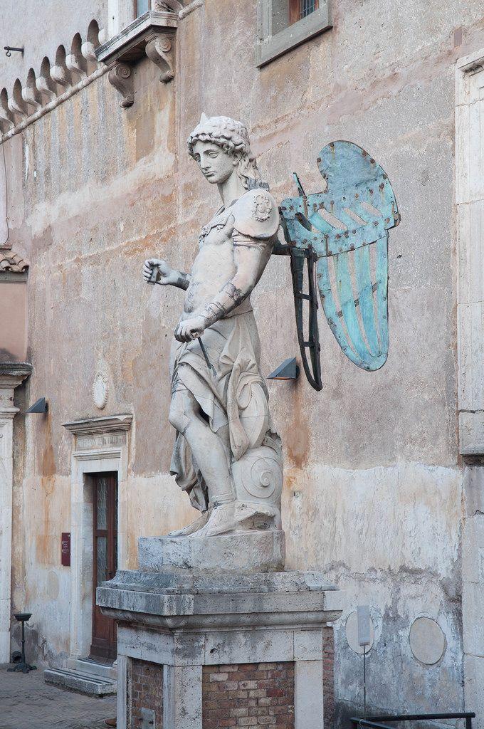 Engelsstatue in Rom, Italien