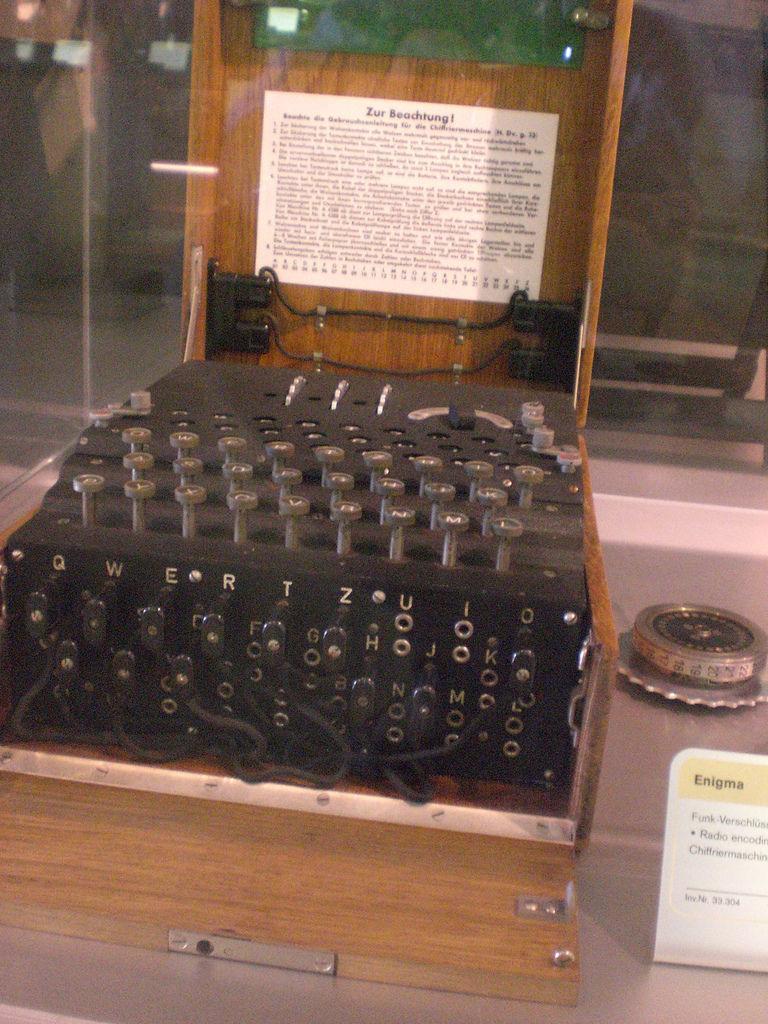 Enigma im Technischen Museum, Wien