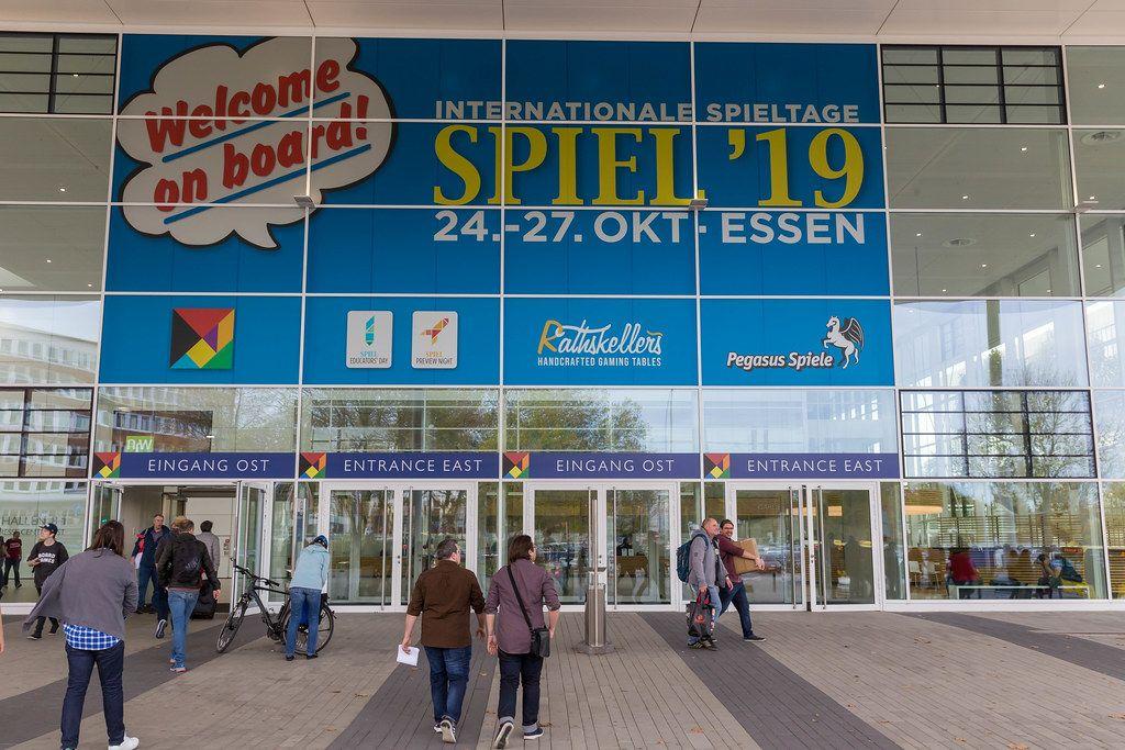 Entrance of the international gamedays in Essen Spiel19