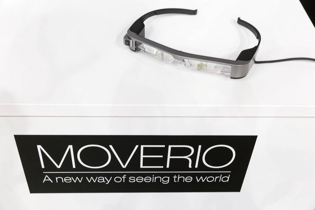 Epson Moverio Augmented Reality Brille