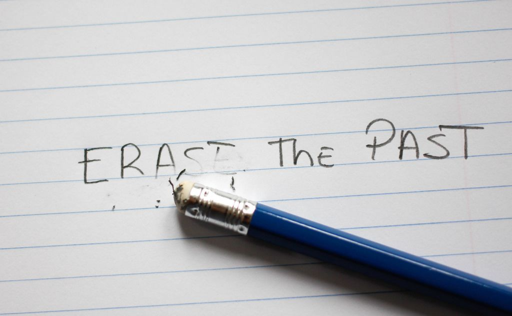 Erase the Past Words with Pencil