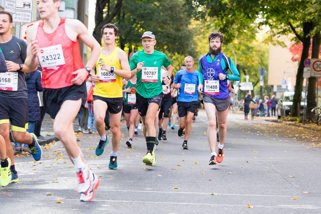 Erekhinsky Alexey, Bachmann Dennis, Smushkin Mikhail, Spangardt Christoph - Köln Marathon 2017