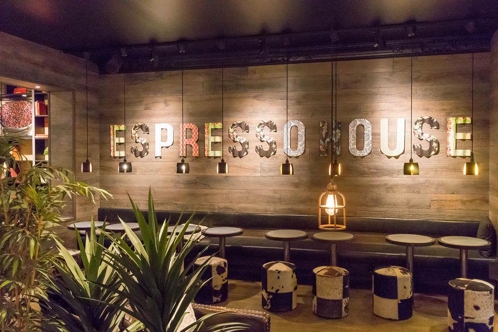 Espresso House in Stockholm: Inneneinrichtung