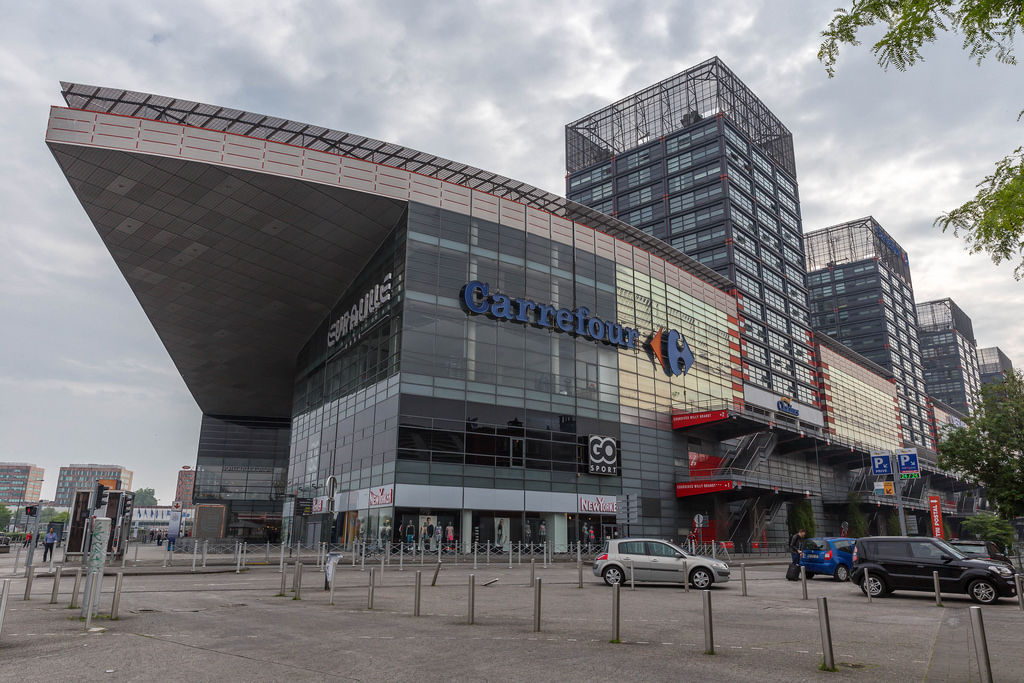 Euraville und Carrefour in Lille