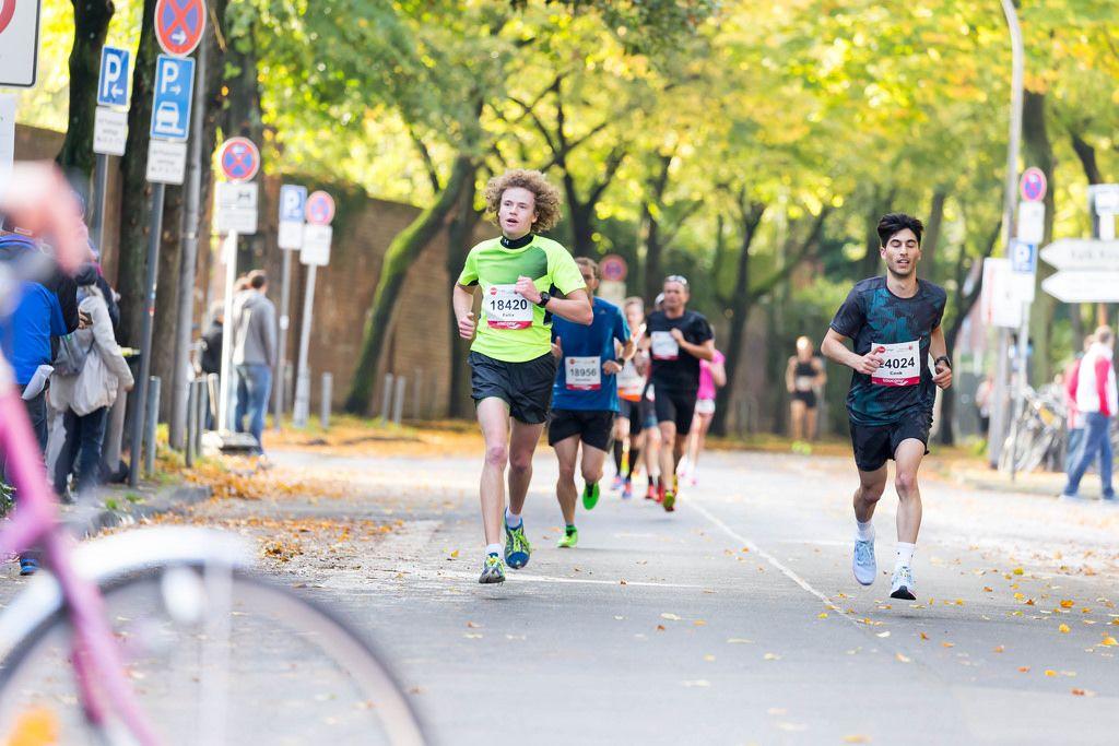 Even Felix, Kücük Cenk - Köln Marathon 2017