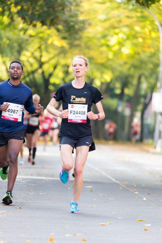 Eyualem Eyob, Perrin Claire - Köln Marathon 2017