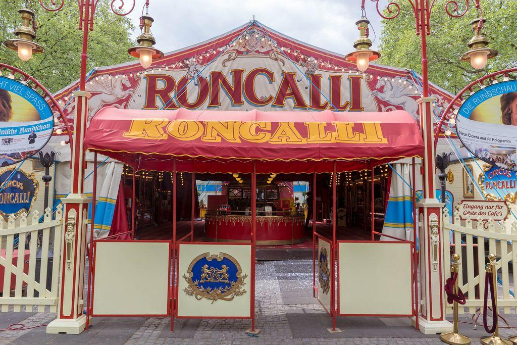 Famous German Circus Roncalli