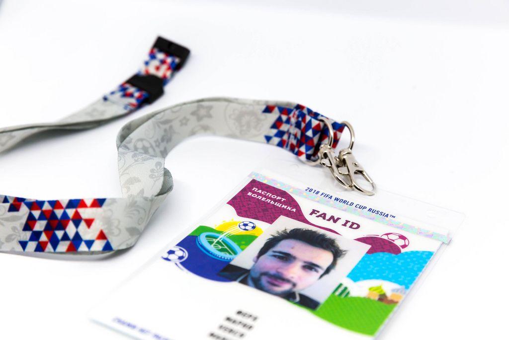 FAN ID mit Schlüsselband