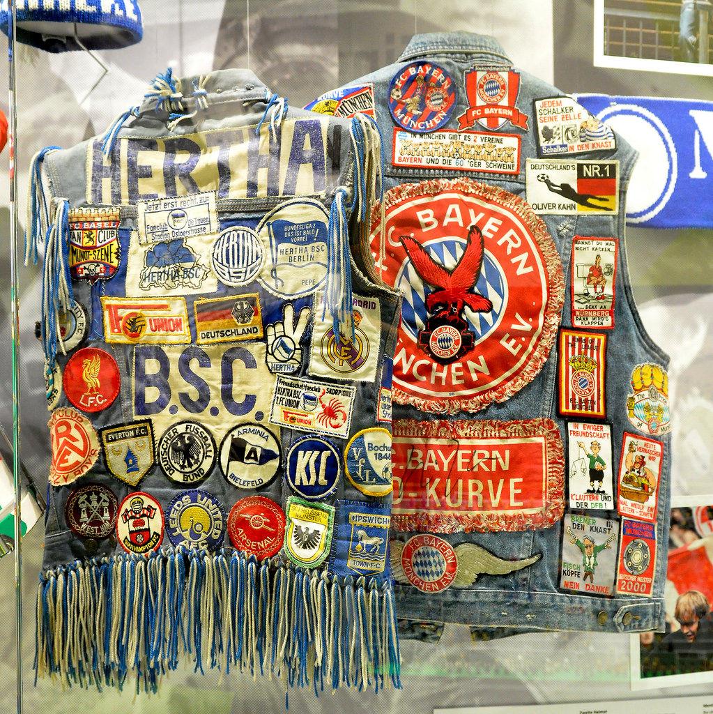 Fan Kutte Hertha BSC und FC Bayern München