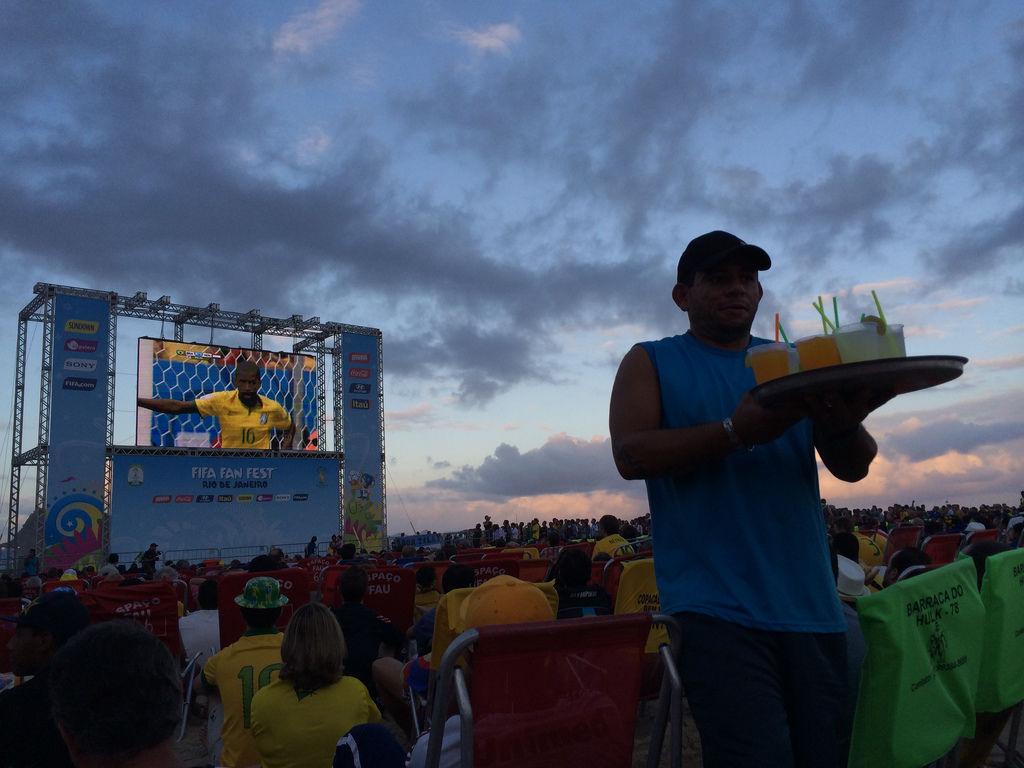 Fanfest an der Copacabana