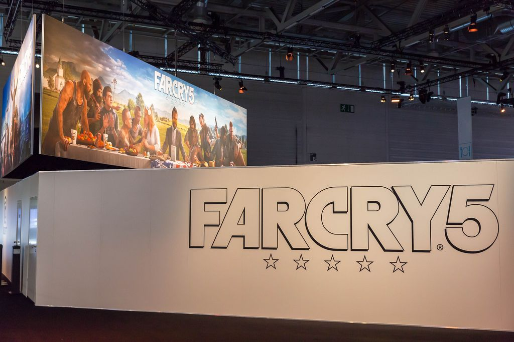Farcry 5 Messestand - Gamescom 2017, Köln