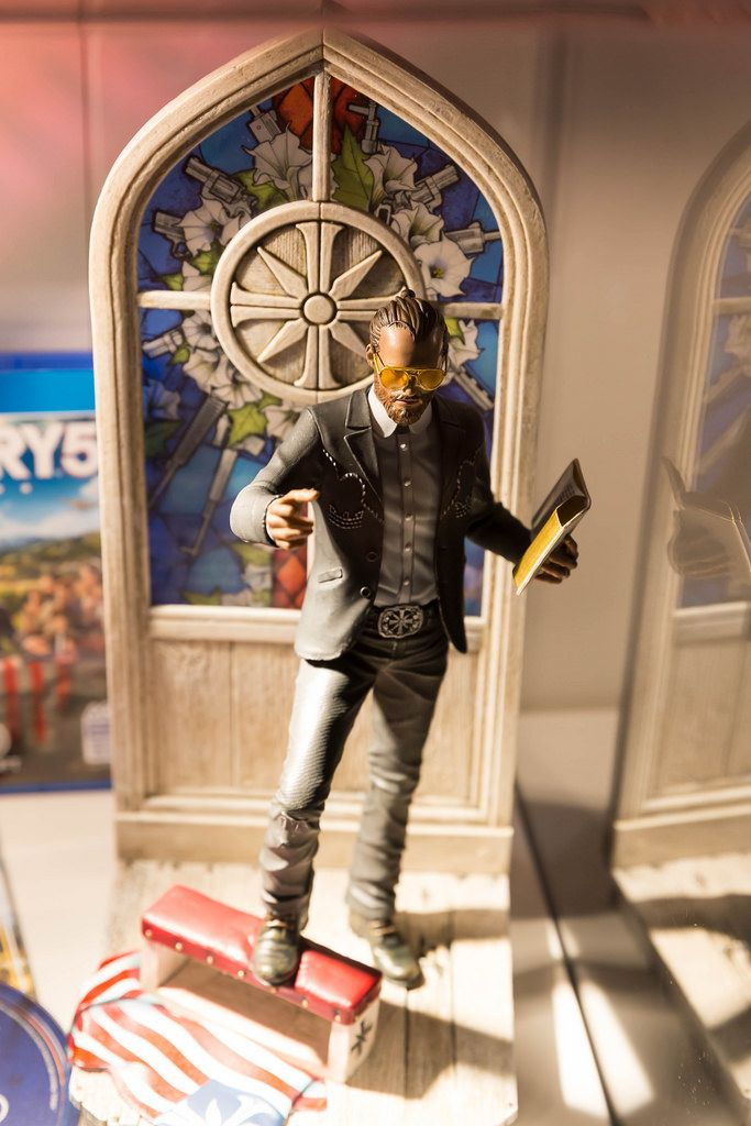 Farcry 5 The Father Edition Actionfigur - Gamescom 2017, Köln