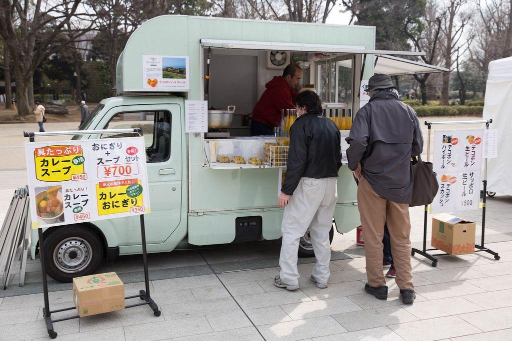 Fastfood auf vier Rädern, Tokyo