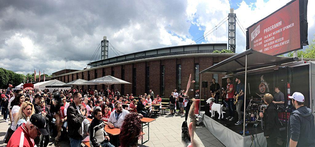 FC-FamilienFest und Public Viewing vor RheinEnergie-Stadion am 20.05.2017
