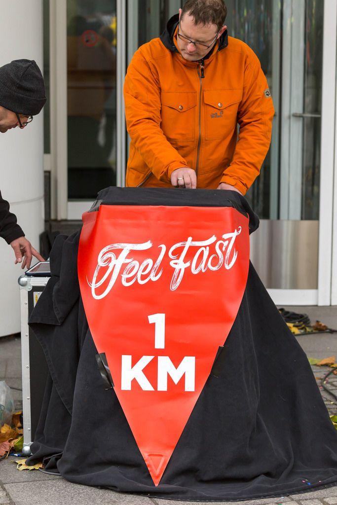 Feel Fast 1 km - Frankfurt Marathon 2017