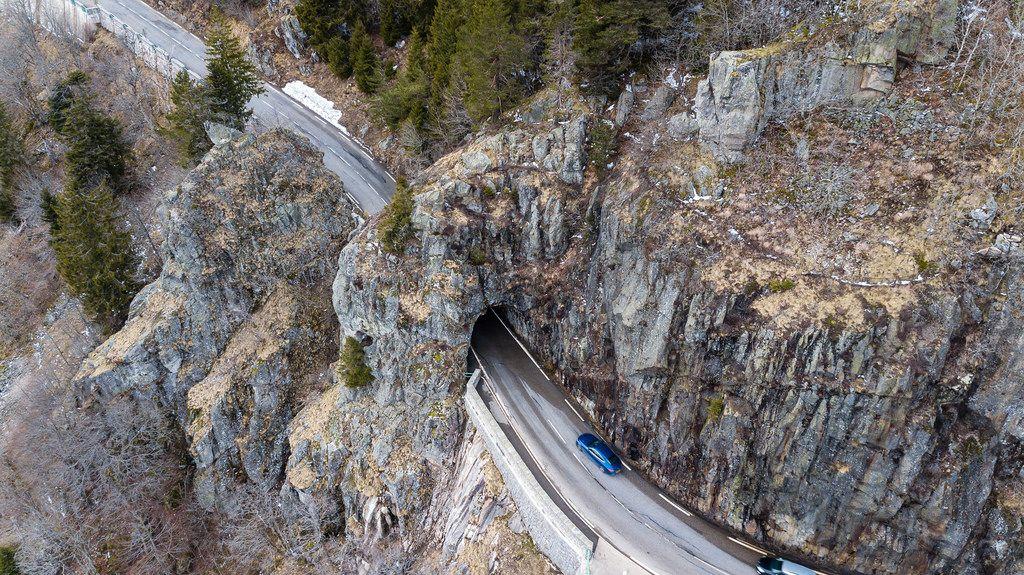 Felsenweg in den Südvogesen