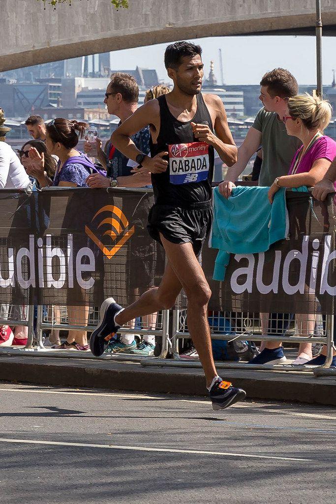 Fernando CABADA - London Marathon 2018
